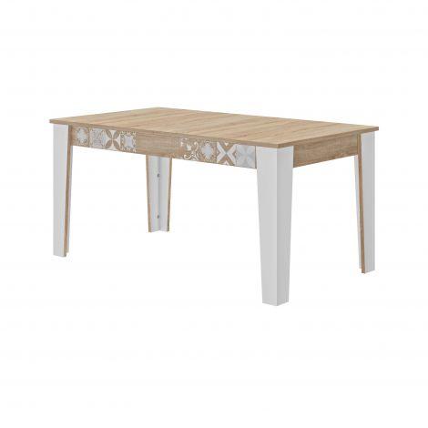 Table à rallonges Claudia 160/200 cm