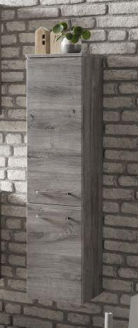 Kolomkast Stivan 30cm 2 deuren - grijze eik