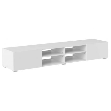 Tv-meubel Podium 185 cm - wit