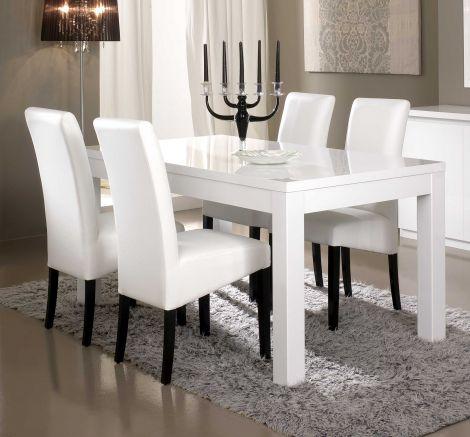 Table à manger Roma 190 cm - blanc
