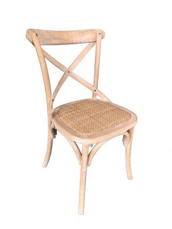 Set van 2 stoelen Erdo - bruin