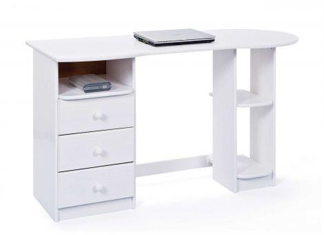 Bureau pour ordinateur Touchround - blanc