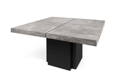 Table à manger Dust - 130x130 cm