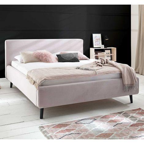 Bed Luiza 180x200 - roze