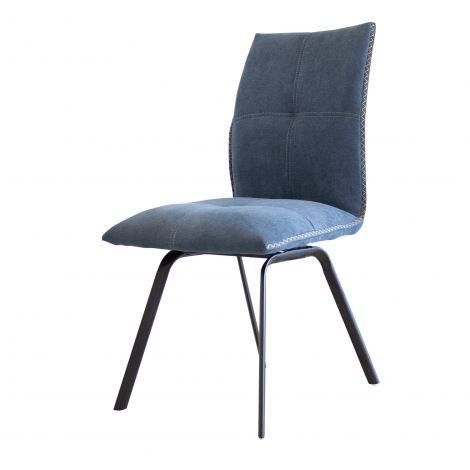 Set van 2 stoelen Salerno - blauw