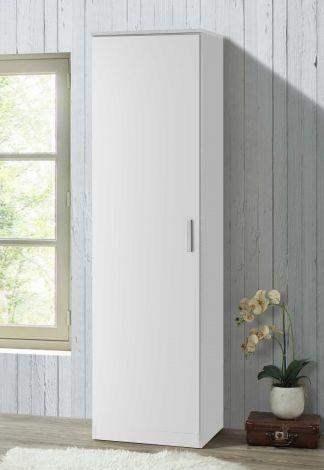 Kledingkast Darcis 1 deur & 52cm diep - wit