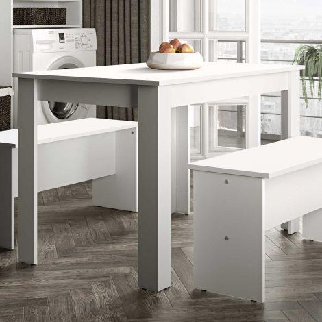Eettafel Nice 110 cm - wit