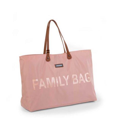 Verzorgingstas Family Bag - roze/koper