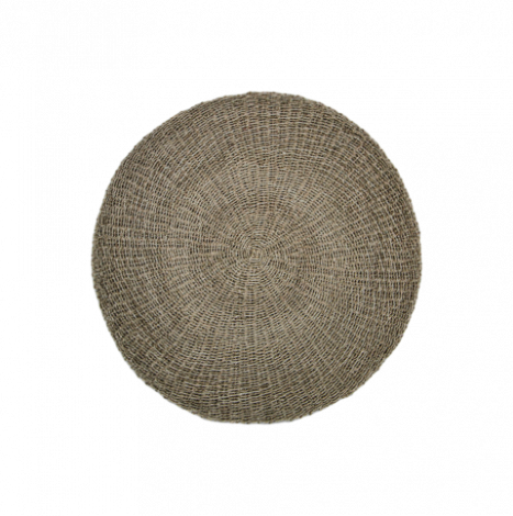 Tapis Malibu ø150cm raphia/zostère - naturel