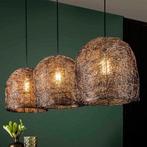 Hanglamp Haystack - antiek koper