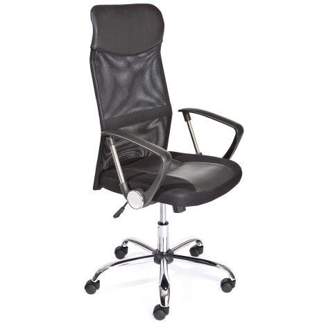 Bureaustoel Torino - zwart