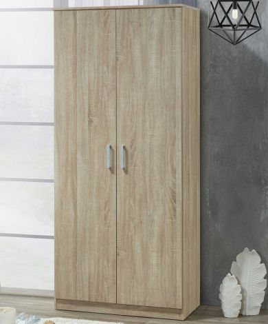 Kledingkast Lias 2 deuren & 52 cm diep