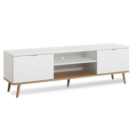 Tv-meubel Göteborg 160cm - wit