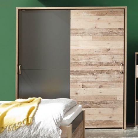 Passepartout Moleskin pour armoire de 170cm - chêne