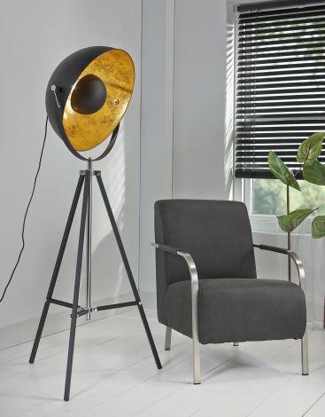 Vloerlamp Spotlight - zwart