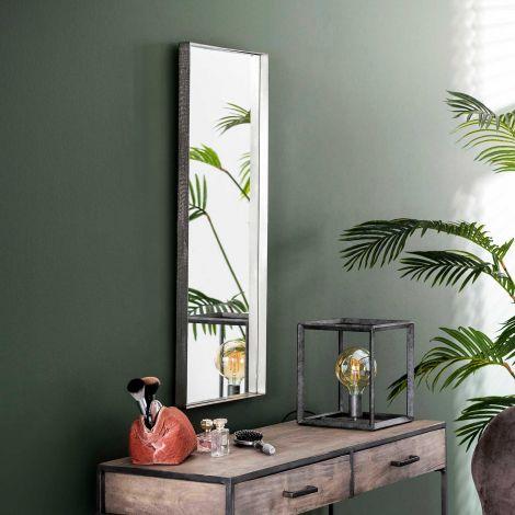 Spiegel Ro 40x100 - antiek nikkel